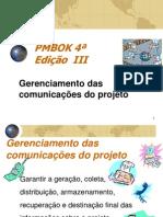 10 - PMBOK Cap10 Comunicas