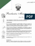 Rm519_2006 Dimensiones de La Calidad Peru