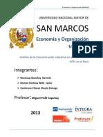 Organización Industrial Concentración Industrial