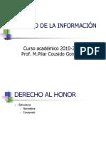 Tema 4 Derecho Al Honor 2010 2011