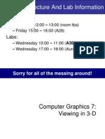 Graphics7-ViewingIn3D
