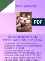Obesidad Infantil y Jardin Infantil