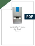 Solar Inverter Manual v1.0