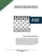 Xadrez Nas Escolas-Trabalho Escolar-Paulo Antonio