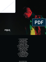 Digital Booklet - Paula