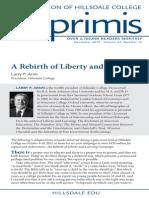 Dec. 2013 - Rebirth of Liberty Imprimis