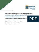 Informe Oficial de Seguridad Hospitalaria