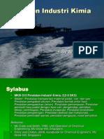 Alat Industri Kimia - Introduction - Andi Gustawan