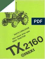Tx2160 Parts Catalogue (EN)