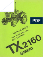 Tx2160 Parts Catalogue (EN)