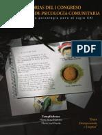 Memorias Del I Congreso Ecuatoriano de Psicologia Comunitaria 2