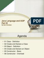 03 Java Language and OOP Part III