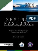 Prosiding Forum Komunikasi Pascasarjana Dan Seminar Nasional