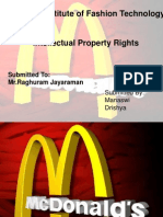 Mc Donalds Ipr Ppt