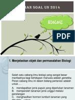 Latihan Soal BIOLOGI
