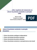 1645-1700 Qual a Melhor Sequencia de Tratamento No CaP Metastatico e Refratario a Castracao_Marcus Vinicius Sadi