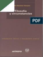 Sanchez Vazquez Adolfo - Filosofia Y Circustancias.pdf