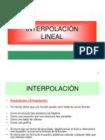 Interpolacion Lineal
