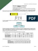 Ejemplo Plan Maestro de Produccion