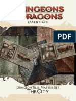 4° essentials - dungeon tiles master set - the city