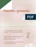 Filozofie Glumeata(DC)