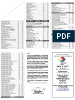 2014 2nd Qtr Pricelist