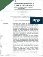 Keputusan Kepala Badan Lingkungan Hidup Kab.bengkalis No. 04 Tahun 2011