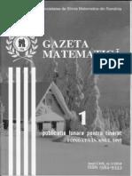 Gazeta Matematica nr. 1-2014 + supliment