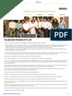 SDPR Group- Pulse Exim Profile