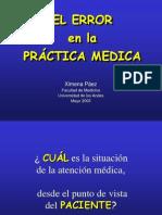 Error Medico