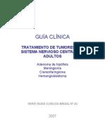 Guía Clínica - Tratamiento de Tumores Del SNC en Adultos