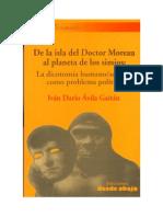 De La Isla Del Doctor Moreau Al Planeta de Los Simios
