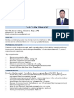 Carlos Rex Fernandez CV