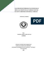 Optimalisasi Produksi Pemboran Dan Peledakan Pada Pembuatan