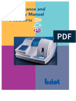 Briot Accura Maintenance Manual