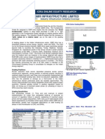 GMR Infrastructure-Equity Research Report 2011 by ICRA