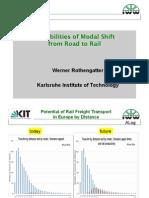 ADB-GIZ Green Freight Workshop - Day 2 Breakout Rothengatter Modal-shift-rail