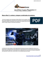 Guia Trucoteca Mass Effect 3 Playstation 3