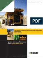 Manual Guia Aplicaciones Maquinaria Pesada Caterpillar Mineria