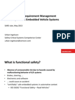 ISO26262 and IEC61508