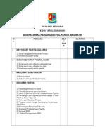 Senarai Semak Pengurusan Fail Panitia Mata Pelajaran SKNP