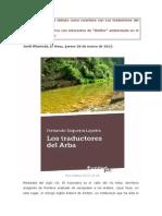 Los Traductores Del Arba, Reseña