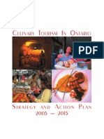 Culinary Tourism in Ontario