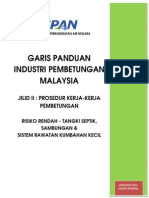 Garis Panduan Industri Pembetungan Malaysia Edisi Khas 2014 Risiko Rendah