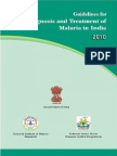 Malaria Diagnosis and Treatment Guidelines, NIMR