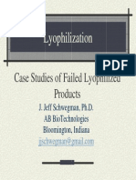Case Studies of Failed Lyophilized Products Final