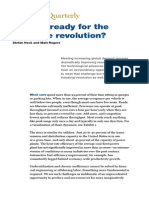 Are You Ready for a Resource Revolution