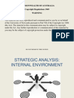 Strategic Management Internal Environment Analysis DJC Version (1)