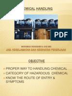 Chem Handling Concepts