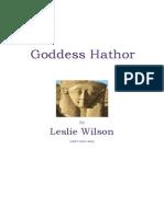 Goddess Hathor